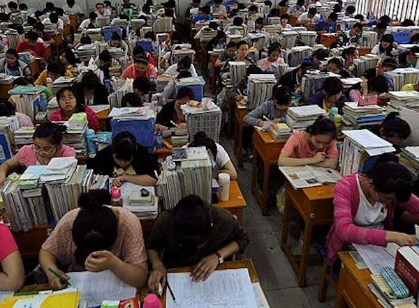 Gaokao, China's insanely difficult national entrance exam